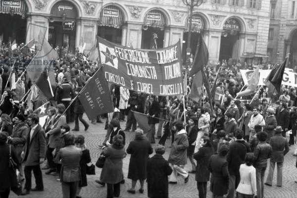 European demonstration against Chilean dictatorship
