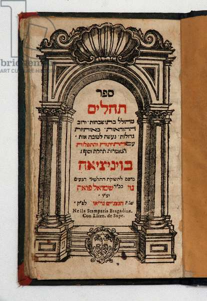 Book of Tehilim (book with engravings)