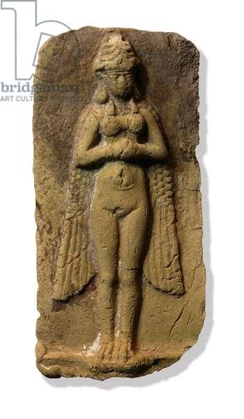 Sumerian Goddess Lama (clay)