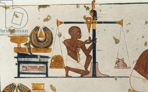 Scene from the life of Nebamun, Tomb of Nebamun, c.1350 BC (fresco)