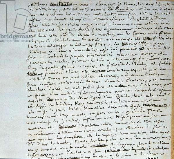 Page 4 of 'L'Hopital et le Peuple' (pen & ink on paper)