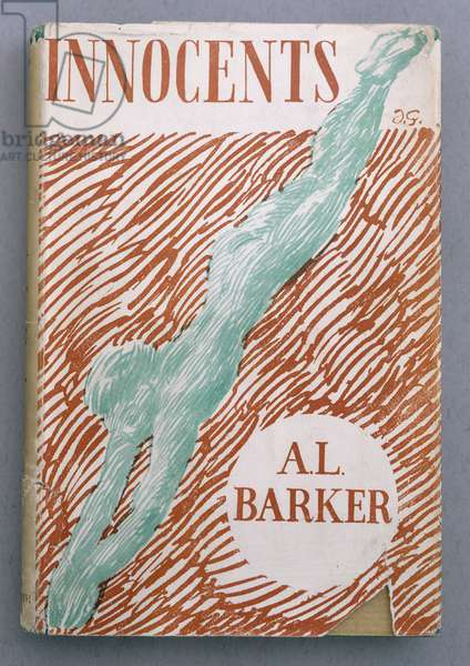 Front Cover for 'Innocents', by A.L. Barker, 1947 (colour litho)