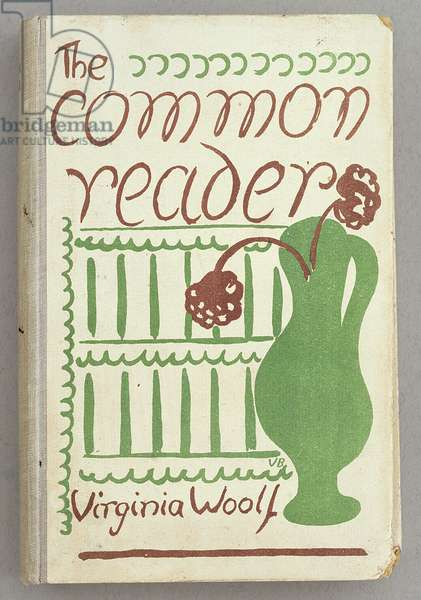 Front Cover for 'The Common Reader', Bloomsbury Workshop, 1925 (colour litho)