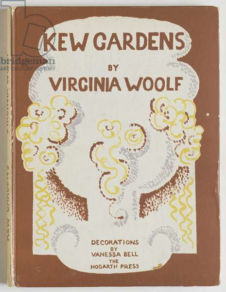 Front Cover for 'Kew Gardens', Virginia Woolf, 1927 (colour litho)