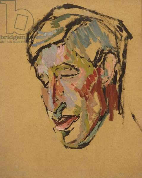 Leonard Woolf, c.1912 (oil on board)