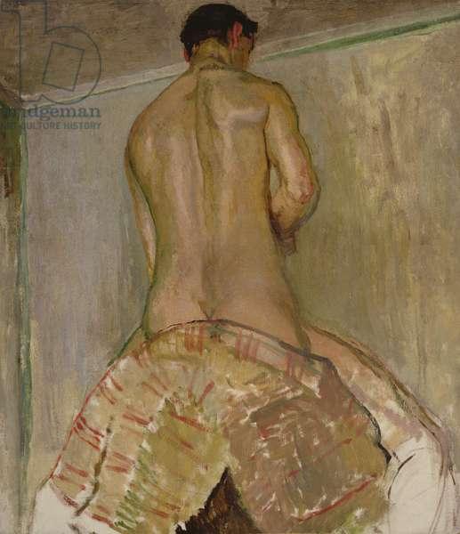 Nude, c.1912 (oil on board)