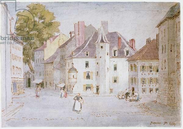 Beaune, 1902 (w/c on paper)