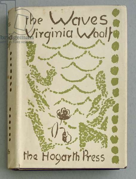 Front Cover for 'The Waves' by Virginia Woolf, 1931 (colour litho)