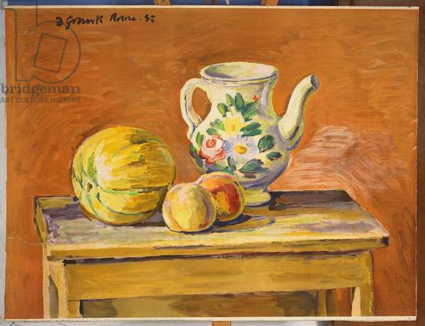 Still Life, 1951 (colour litho)