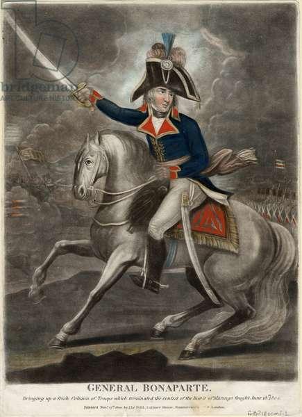 General Bonaparte, 1800 (coloured mezzotint)