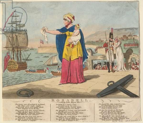 Rosabell, 1806 (colour litho)