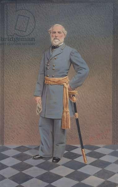 General Robert E. Lee, 1865-70 (gouache on paper)