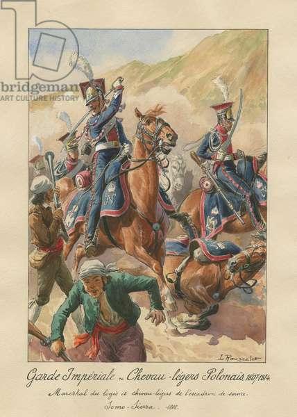 Garde Impériale - Chevau-légers Polonais, 1807-1814, 1945 (w/c on paper)