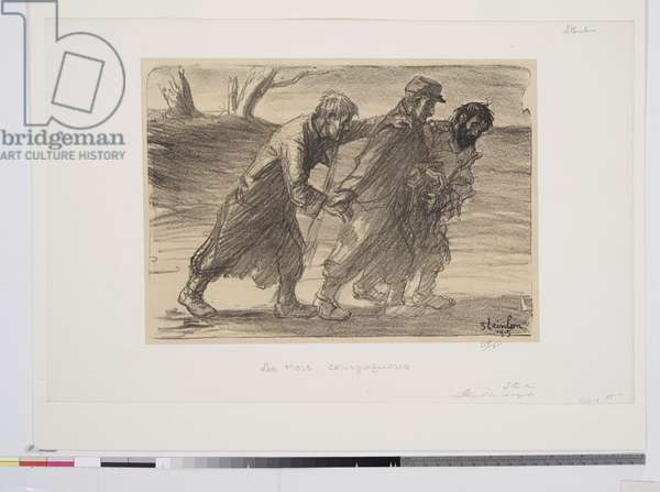 The Three Companions, 1915 (litho)