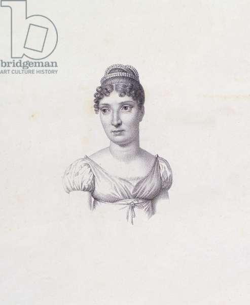 Princess Elisa Baciocchi (engraving)