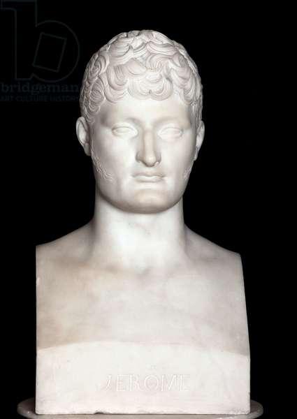 Bust of Jerome Bonaparte (marble)