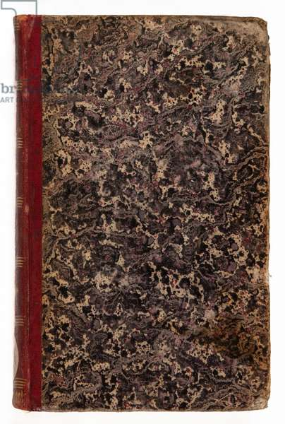 'Genie du Christianisme', 1802 (leather & marbled paper)