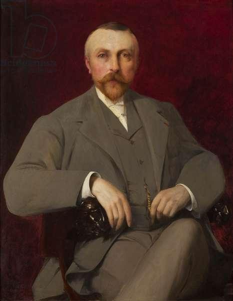 Portrait of Paul Marmottan, 1898 (oil on canvas)