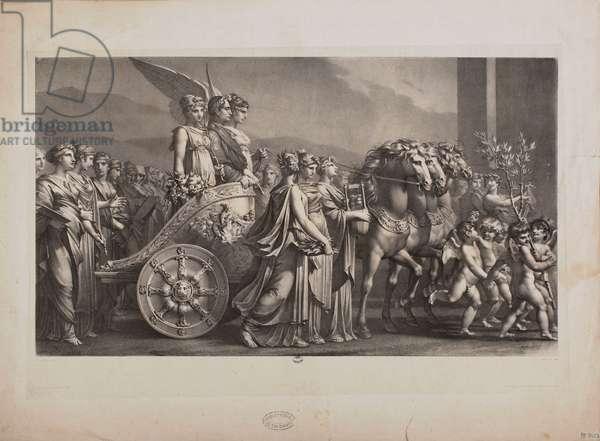 The Triumph of Bonaparte, or Peace (litho)