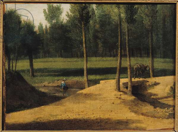 The Surroundings of the Bievre, c.1808-10 (oil on canvas)