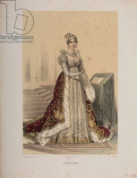 Joséphine (colour litho)