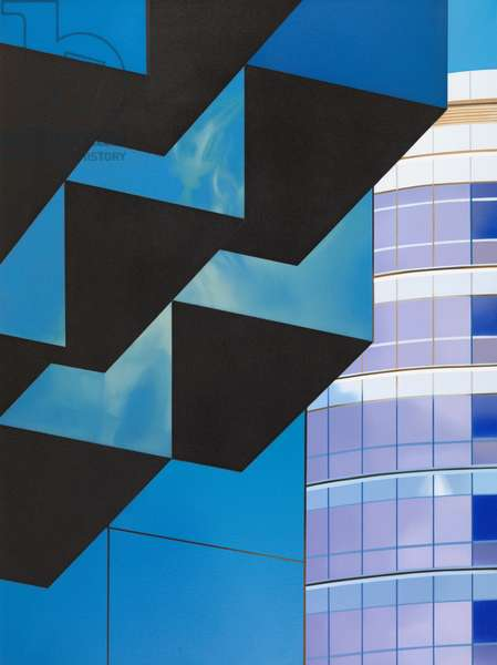 Cubic (oil on canvas)