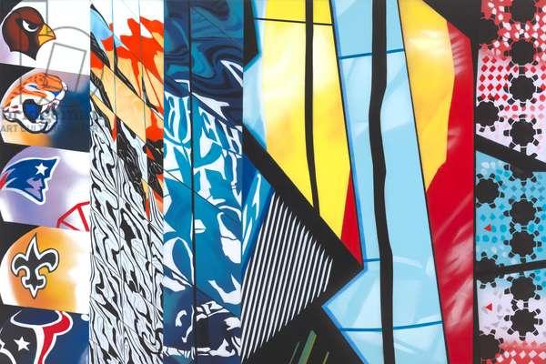 City Zest (oil on canvas)