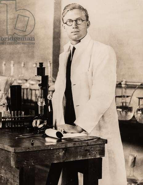 Portrait of Dr. Harry Coke, London, England, UK, 1931 (silver gelatin print)
