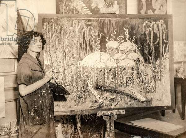 Marian Spore, Artist and Psychic, c.1925 (silver gelatin print)