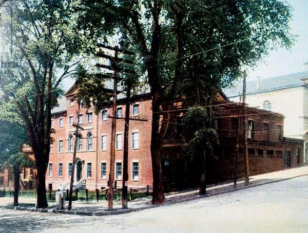 Medical College, Albany, New York, USA, 1919 (postcard)