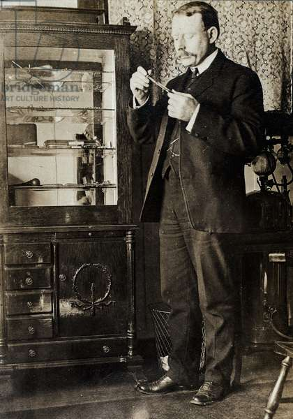 Wilson Scott MD, Alaska, c.1880 (silver gelatin print)