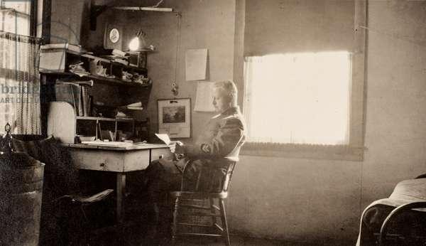 Office at Camp Green, Charlotte N.C., c.1918 (silver gelatin print)