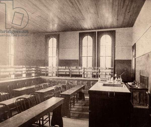 Laboratory Classroom, 1890 (silver gelatin print)