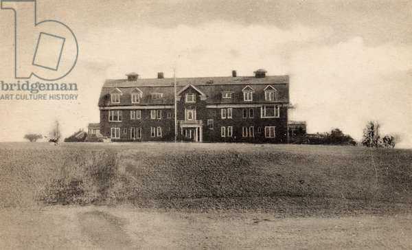 South County Hospital, Wakefield, Rhode Island, 1950 (postcard)