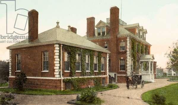 Cottage Hospital, Portsmouth, New Hampshire, USA (postcard)