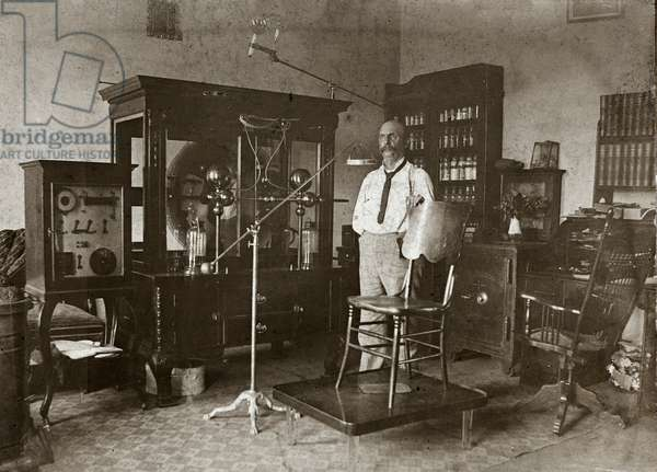 Electrotherapy Machines, George Hickman, MD, c.1890 (silver gelatin print)