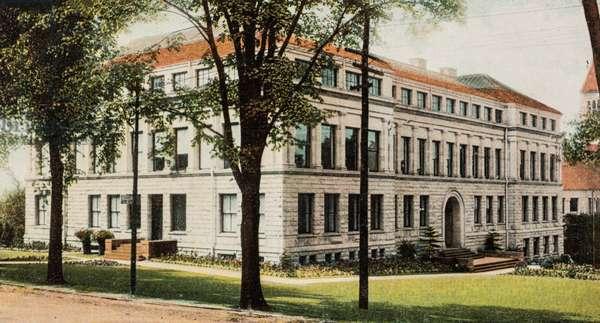 Medical College, Cornell University, Ithaca, New York, USA (postcard)