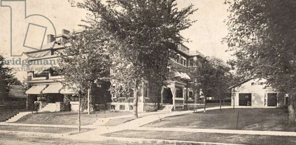 The Punton Sanitarium, Kansas City Missouri, USA, c.1915 (postcard)