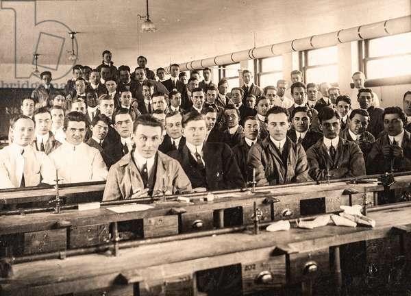 Tufts Dental School, 1914, Medford, MA, USA, 1914 (silver gelatin print)