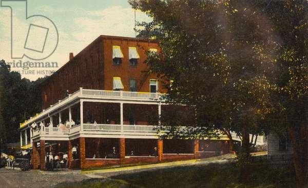 Victoria Sanitarium, Colfax, Iowa, USA (postcard)