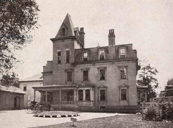 St. Albans Hospital, St. Albans, Vermont, USA (postcard)