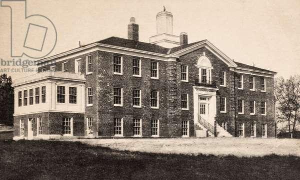 Miles Memorial Hospital, Damariscotta, Maine, USA, 1908 (postcard)