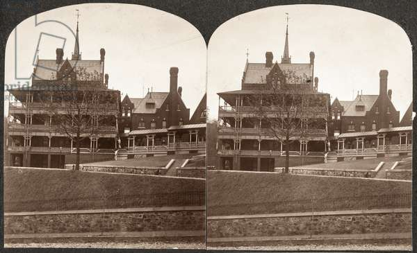 Army and Navy Hospital, c.1890 (stereoview)