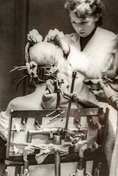 Electroconvulsive Therapy and Trepanation II, Paris, France, c.1930 (silver gelatin print)