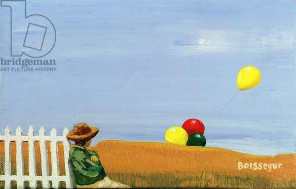 Le Ble Qui Leve (oil on canvas)