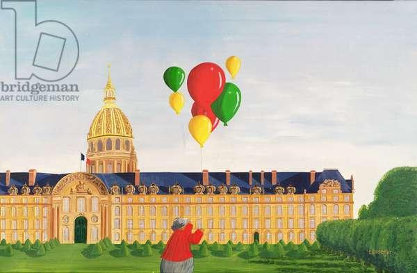 Invalides Palace, Paris (oil on canvas)