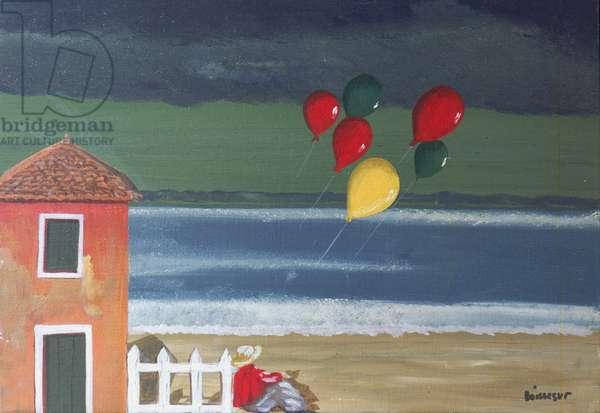 L'Adieu aux Larmes (oil on canvas)