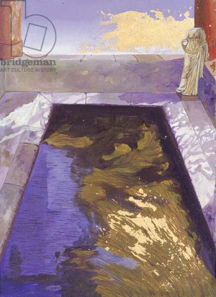 Minerva's Pool (oil on canvas)