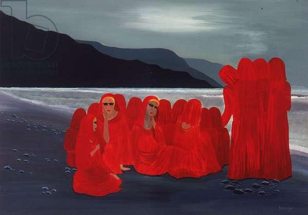 Polar Station (oil on canvas)