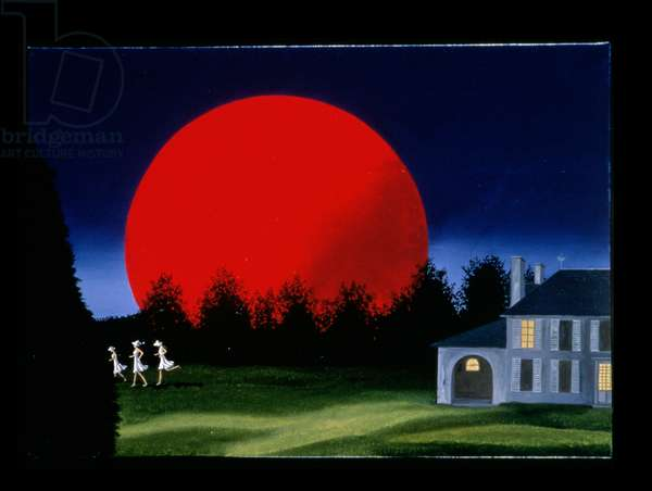 The Three Fairies, 2000 (oil on canvas)